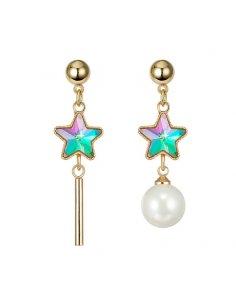 Aretes Estrella Multicolor