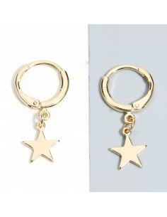 Aretes Estrellas Doradas