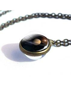 Collar Esfera Saturno
