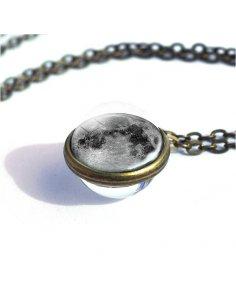 Collar Esfera Luna