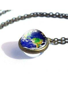 Collar Esfera la Tierra