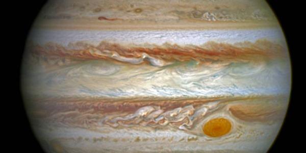 Auroras Boreales en Júpiter