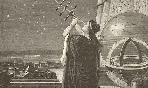 La primer mujer astrónoma